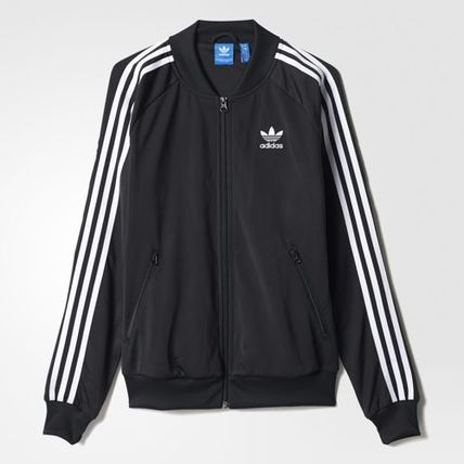 adidas ブルゾン [adidas][Women's Originals]正規品 SUPERGIRL TRACK TOP BK5931