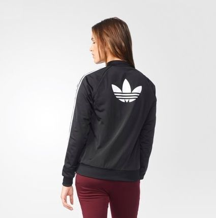 adidas ブルゾン [adidas][Women's Originals]正規品 SUPERGIRL TRACK TOP BK5931(8)