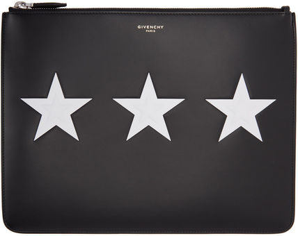 Black Stars Pouch ポーチ クラッチバッグ