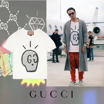 GUCCI Gucci Ghost T-shirt Printed Skull