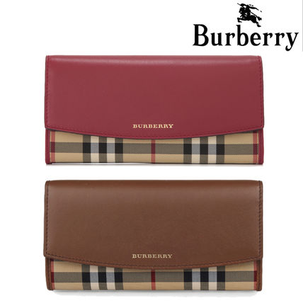 BURBERRY Lady's long wallet