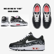 NIKE★AIR MAX 90 PRINT LTR GS★V-DAY★ハート柄★22.5~25cm
