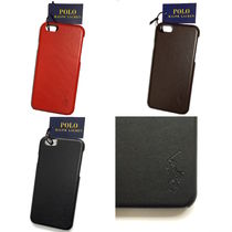 【国内在庫有り】Polo Ralph Lauren Leather iPhone 6/6s case