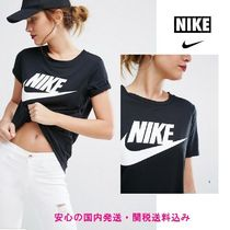 安心国内発送☆Nike Logo T-Shirt In Black♪
