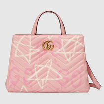 """""""JAPAN EXCLUSIVE"""" GG Marmont Top handle bag Gucci Ghost"""