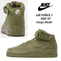 新作!! ◆NIKE◆ Air Force 1 High '07 Cargo Khaki