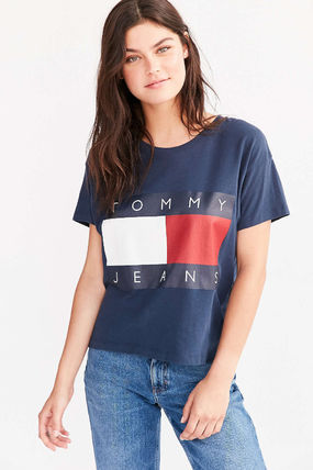 Tommy Hilfiger Tシャツ・カットソー 【Tommy Jeans】新作☆ '90s ロゴ Tシャツ☆3色(5)