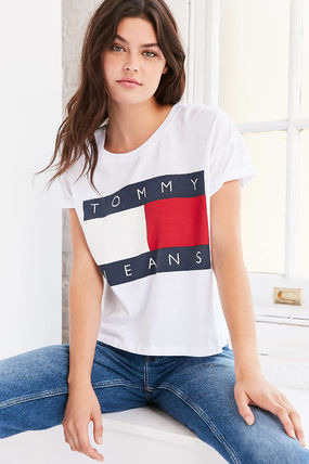 Tommy Hilfiger Tシャツ・カットソー 【Tommy Jeans】新作☆ '90s ロゴ Tシャツ☆3色(7)