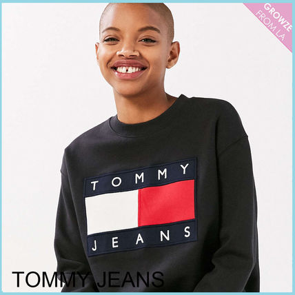 Tommy Hilfiger スウェット・トレーナー 【Tommy Jeans】新作☆ '90s ロゴ スウェット☆2色