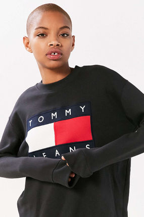 Tommy Hilfiger スウェット・トレーナー 【Tommy Jeans】新作☆ '90s ロゴ スウェット☆2色(2)