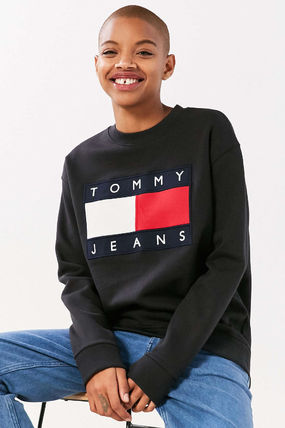 Tommy Hilfiger スウェット・トレーナー 【Tommy Jeans】新作☆ '90s ロゴ スウェット☆2色(6)