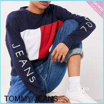 【Tommy Jeans】新作☆ '90s カラーブロックロゴ スウェット☆