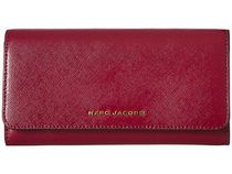 MARC JACOBS新作☆Saffiano Tricolor Flap Continental長財布