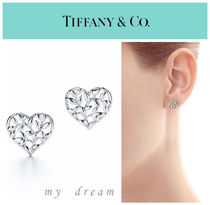 【Tiffany & Co】Paloma Picasso Olive Leaf Heart Earrings