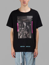 【関税負担】 OFF WHITE 17SS CARAVAGGIO T-SHIRTS BLACK