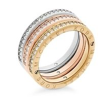 Michael Kors Logo Stacking Rings Set of 3(リングセット)