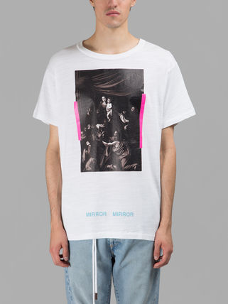 SS17 OFF WHITE off-white CARAVAGGIO TEE short sleeve T shirt