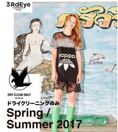 DRY CLEAN ONLY Tシャツ・カットソー Bangkok発★Dry Clean Only★ヴィンテージAdidasカットソー(2)