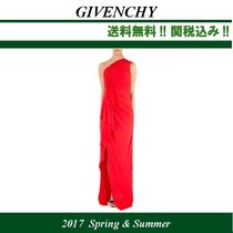 2017SS関税込,GIVENCHY(ジバンシィ) ロングドレス,red