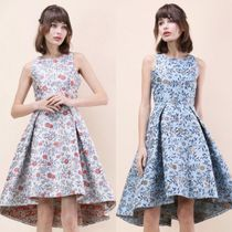 送料関税込・国内発送☆Florets Jacquard Waterfall Dress