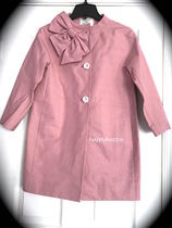 【kate spade】激レア色!りぼんkendall coat☆春色pink/XSのみ