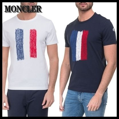 MONCLER Tシャツ・カットソー 【海外発送】MONCLER★2017SS 新作 Tシャツ