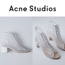 Acne Studios/17SS トラスパレントブーツ Mable Mesh