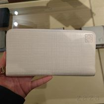 LOEWE Outlet セール★ロエベ Zip Around Wallet milk