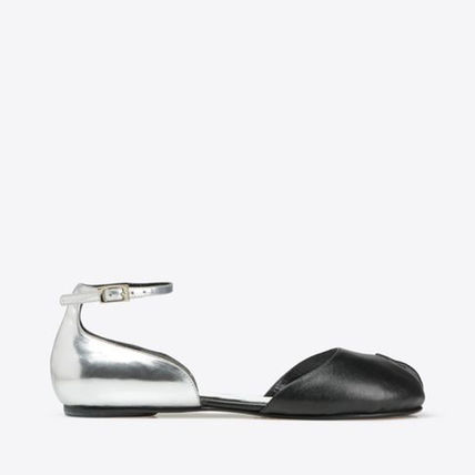 SS17 Margiela every flat Sandals black