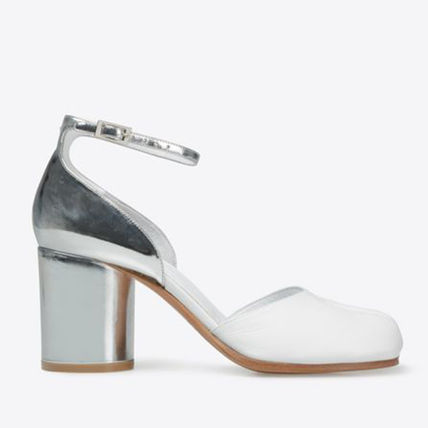 SS17 Margiela every heel Sandals white