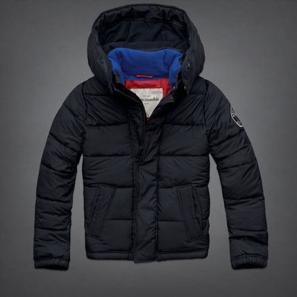 Abercrombie & Fitch アウター かっこいいlightly lined puffer jacket KID(10-12歳)(2)