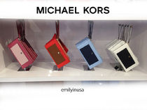 Michael Kors☆2月新作★Greenwich LG ZIP CLUTCH スマホ収納OK