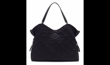 Tory Burch マザーズバッグ Tory Burch MARION QUILTED SLOUCHY BABY BAG(3)