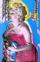 Shane Bowden MONEY FOR MARILYN 91x145cm 純正フレーム可