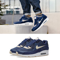 NIKE★WMNS AIR MAX 90★22~25cm★BINARY BLUE/OAT MEAL