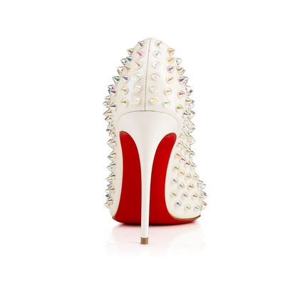 Christian Louboutin パンプス 希少 17SS LOUBOUTIN Follies Spikes Patent 100mm(3)