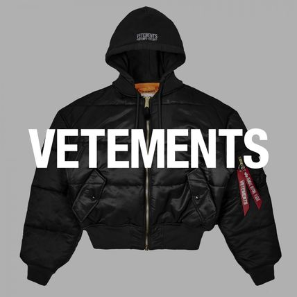 In VETEMENTS×ALPHA INDUSTRIES Ma-1