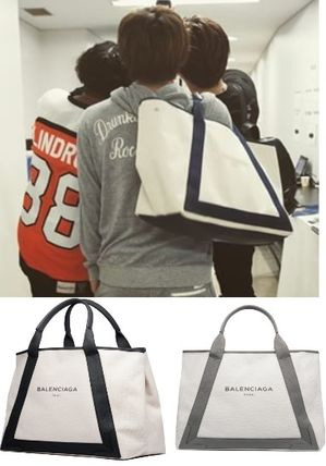 Third eye J Soul Brothers BALENCIAGA canvas tote M