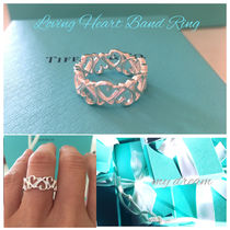 【Tiffany & Co】Paloma's Loving Heart Band Ring in silver