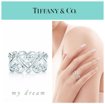 【Tiffany & Co】Paloma'c Venezia Goldoni Heart Band Ring