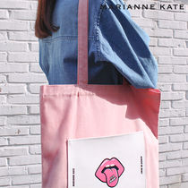Marianne kate(マリアンケイト) エコバッグ Marianne kate★正規品★It's Yummy エコバッグ(pink)