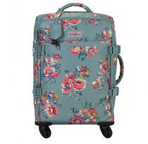 Cath Kidston_FOUR WHEEL CABIN BAG WINDFLOWER BUNCH SOFT TEAL
