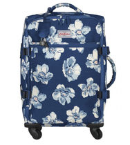 Cath Kidston_FOUR WHEEL CABIN BAG SCATTERED ANEMONE NAVY