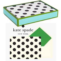 即納Kate spadeNY  SPOT ON NOTECARD SETカードセット136845