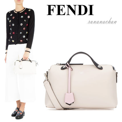 Pale pink FENDI BY THE WAY Small handbag
