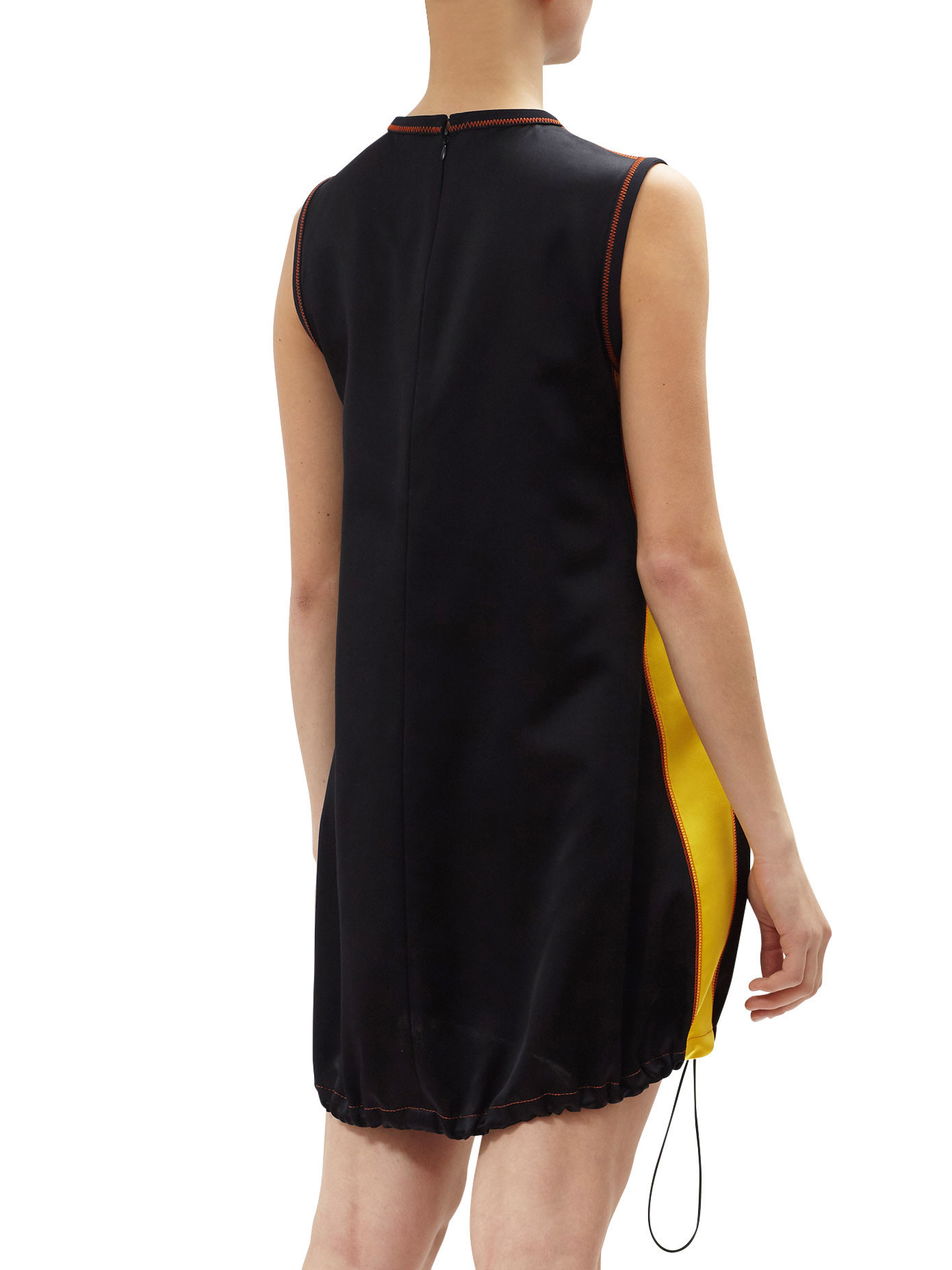 PR456 LOOK42 SILK SLEEVELESS MINI DRESS
