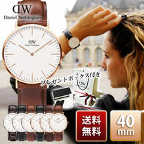Daniel Wellington Classic 40mm Rose Gold/Silver 腕時計