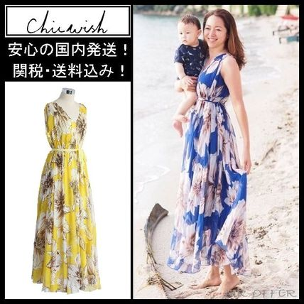 Chicwish floral Maxi dress / respect into