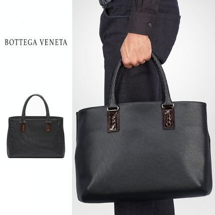 2017 SS BOTTEGA VENETA Nero Polo tote bag