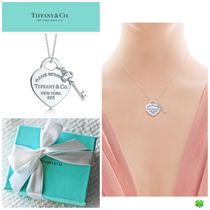 新作★ Tiffany & Co ティファニー★Heart Tag with Key Pendant